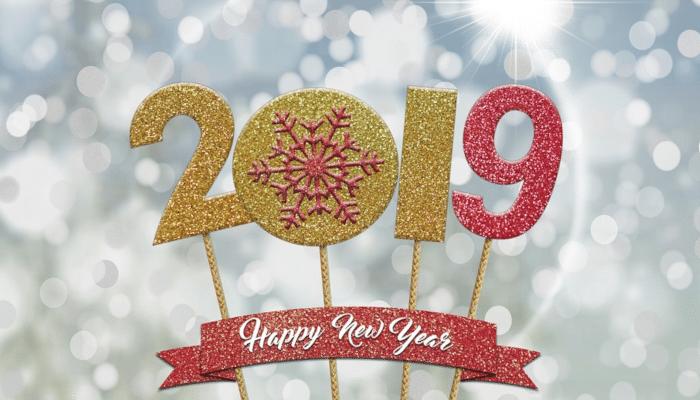 Welcome 2019 : nouveaux objectifs et nouveaux projets