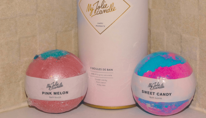 My Jolie candle - Cotton Candy blog lifestyle lecture et maternité