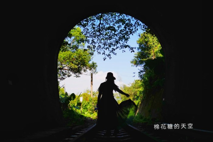 台中后里祕境大公開 八號隧道圳磚橋美得像是宮崎駿卡通場景
