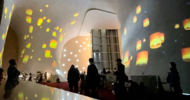 歌劇院也可以看天燈、看煙火~光影秀新春特別版只剩兩周!