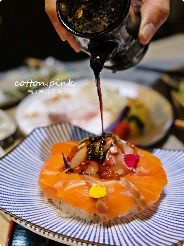 20210318082423 10 - 熱血採訪│免改名當月壽星就送特製鮭魚蛋糕!台中最新日式無菜單料理「鰆沐 割烹、酒」超澎湃