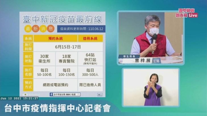 20210612162713 15 - 台中市政府最新公布!85歲以上長者施打疫苗免預約~在家等通知單喔!!