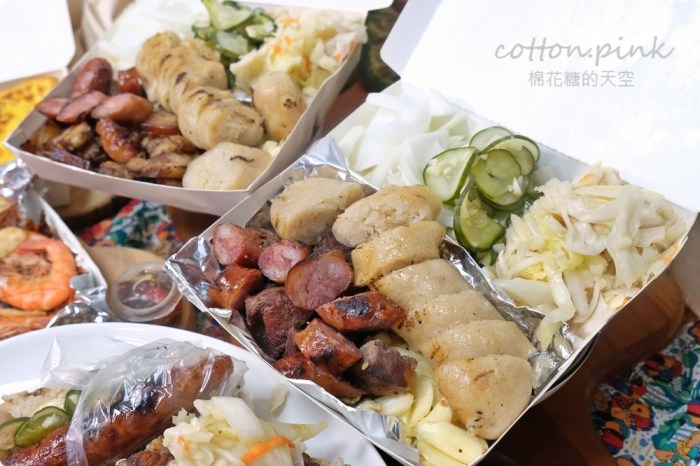 台中永興街必吃 Q媽咪大腸包小腸超彭湃餐盒滿到蓋不起來啦!宅配好料新登場!