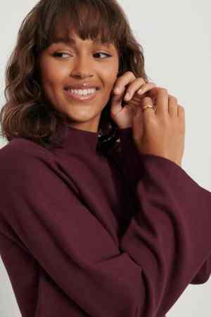 NA-KD Cropped lounge sweater 1018-005407 (3)