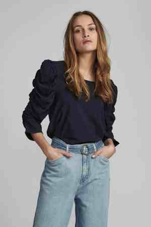 Numph Nufiona blouse 700431 dark sapphire (1)
