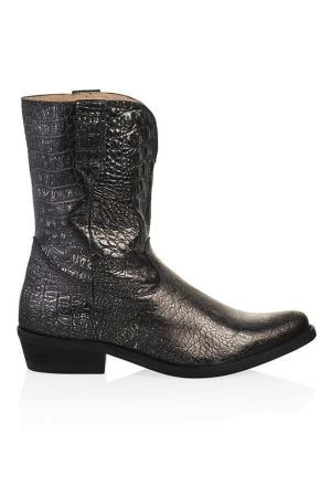 DWRS Toscane metallic embossed 1900-04 black-silver (1)