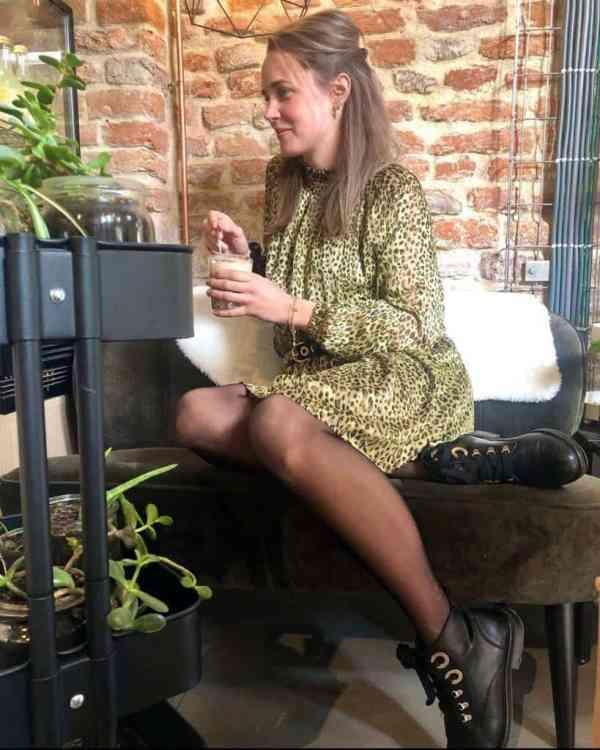 Saint Tropez Leopard dress