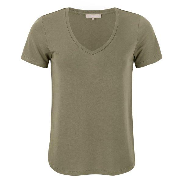 Soft Rebels - V-neck covert green