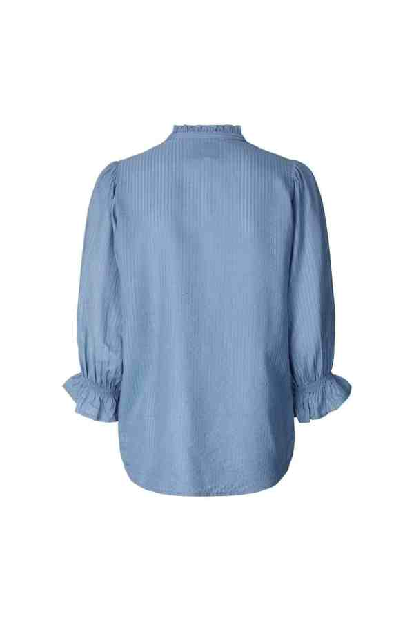 Lollys Laundry Huxi shirt 21105_2006 - 29 Dusty Blue 2