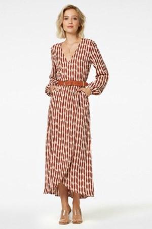 Freebird - Maxi dress long sleeve Ananda 1
