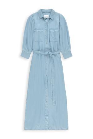 Homage to Denim -Tencel Maxi Dress