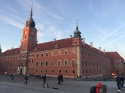 The main Castle in Warsaw.