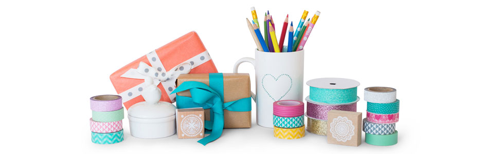 Cotton Candi creative products and washi tape