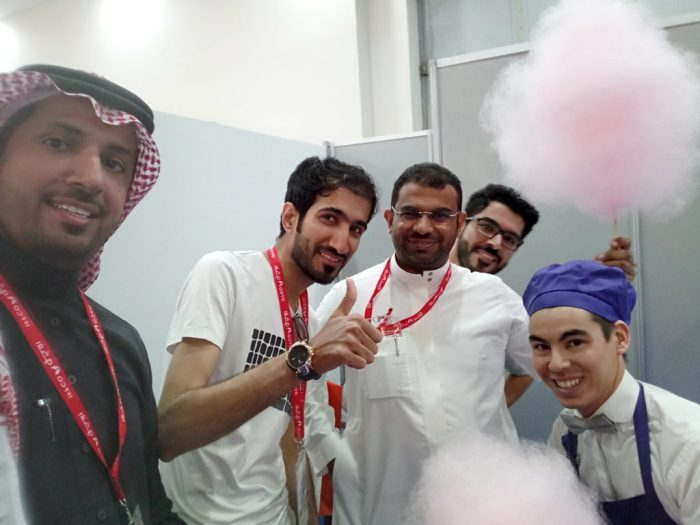 Local guys from Saudi