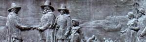 Founders Memorial in Boston MA