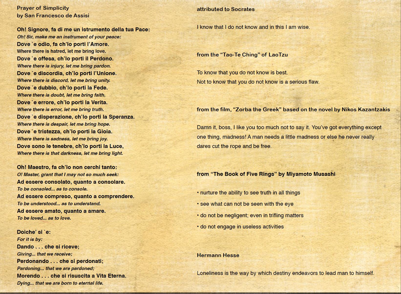 30 St. Francis-Socrates-Lao Tzu