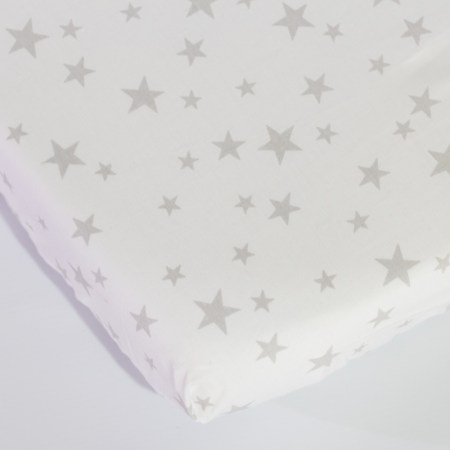 Fitted Sheet Cot – Star Design