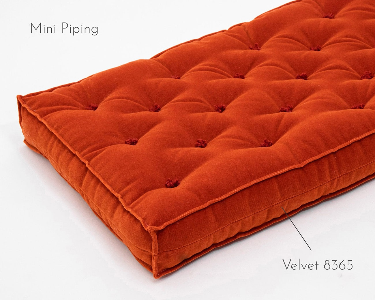 3 tufted cushion