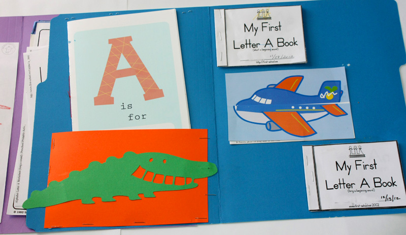 have you found other great resources for alphabet lapbooks please
