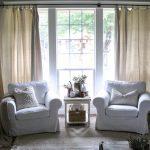 Inexpensive Farmhouse Hacks Drop Cloth Curtains Cotton Stem