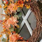 Diy Fall Wreath Recipe Cotton Stem