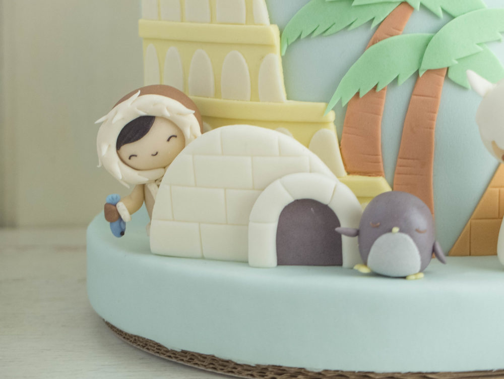 Smallest World After All Cottontail Cake Studio Sugar