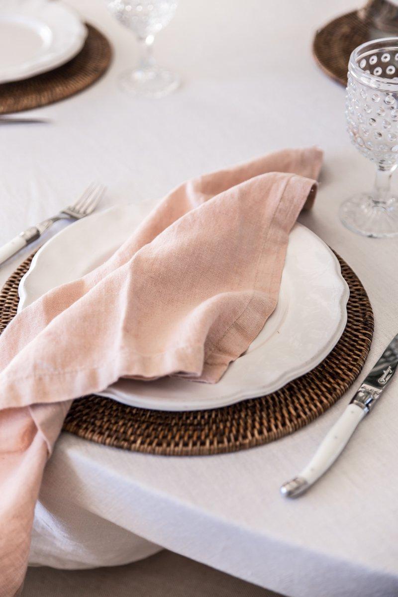 cottonwood avocado seed dyed linen napkins-1