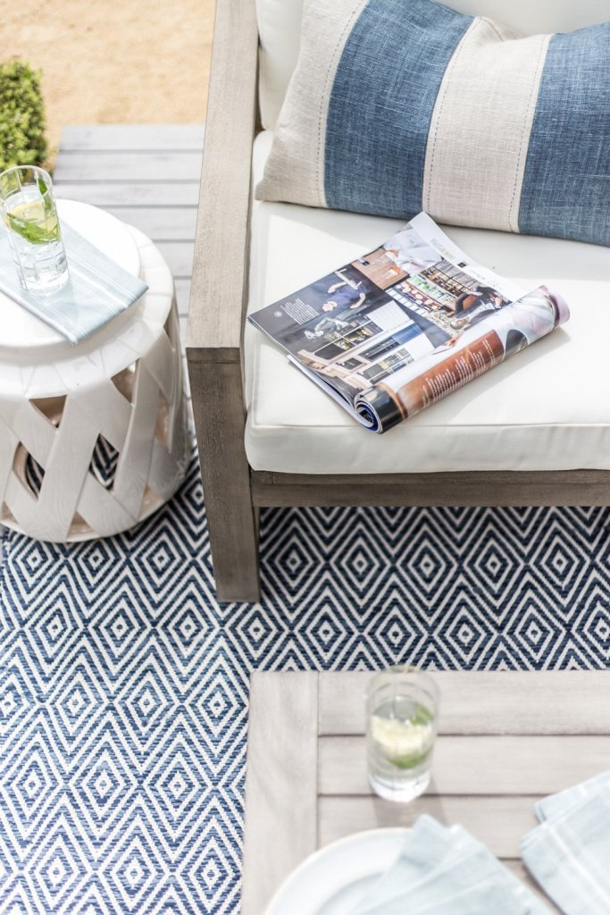 Our Outdoor Makeover with Pottery Barn - Cottonwood and Co
