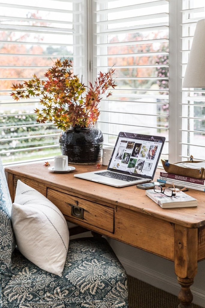 Vintage office desk - Cottonwood and Co