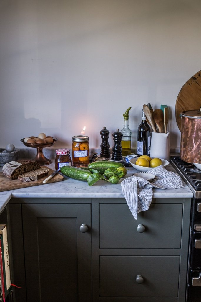Autumnal scenes from my cottage kitchen - Cottonwood & Co