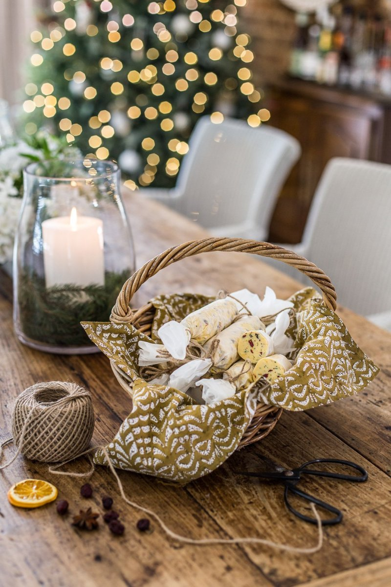 Christmas Butter - a festive compound butter - Cottonwood and Co