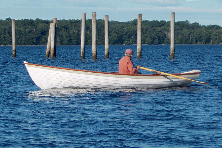 Rowing Penobscot Wherry