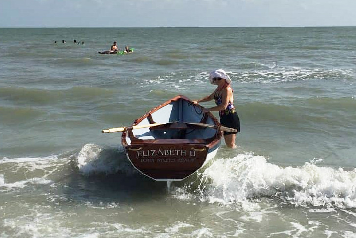 Chaisson Dory in the surf