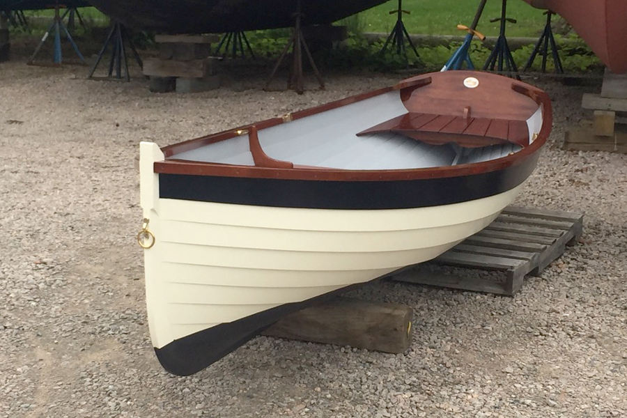 "12 '6"" Maine Whitehall tender Rowboat"