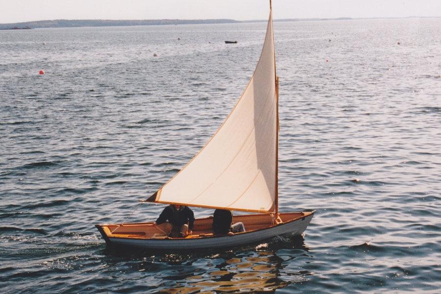 Sailing Penobscot Wherry