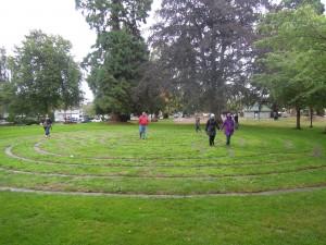 James Bay Morning Labyrinth Walk