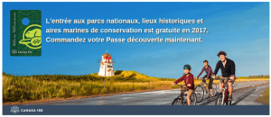 Laissez-passer Parcs Canada 2017 Gratuit