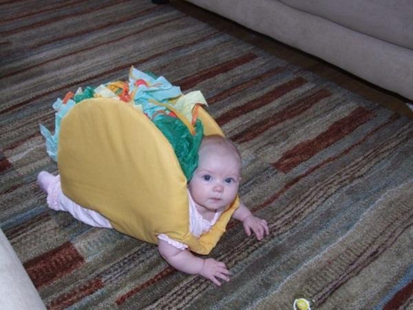 un bon bébé taco une bonne idée de déguisement