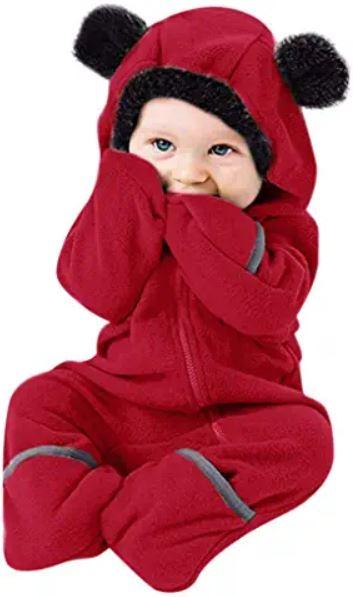 beau pyjama chaud pour bébé