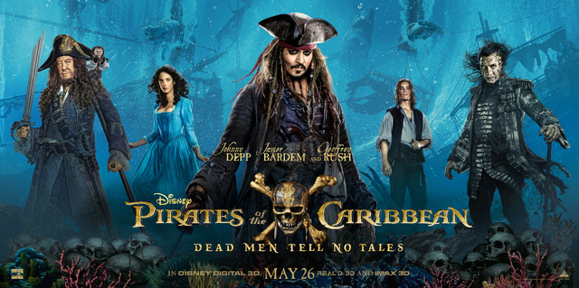 , Couch Guy Reviews: Pirates of the Caribbean: Dead Men Tell No Tales