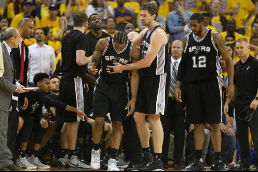 , Kawhi Leonard Out For Game 3
