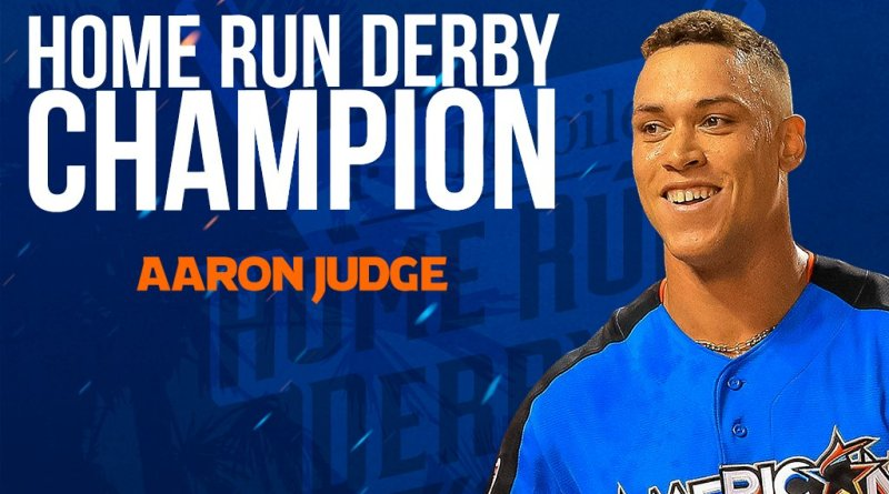 , Aaron Judge Continues To Prove He's A Mutant & Wins The 2017 Home Run Derby