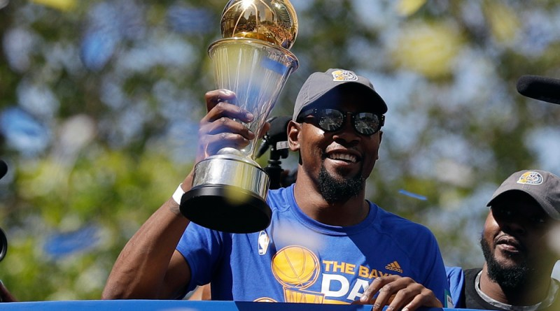, Kevin Durant Will Not Attend the Warriors Trip to the White House