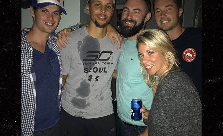 , Steph Curry Crashing Parties and Crushing Brews