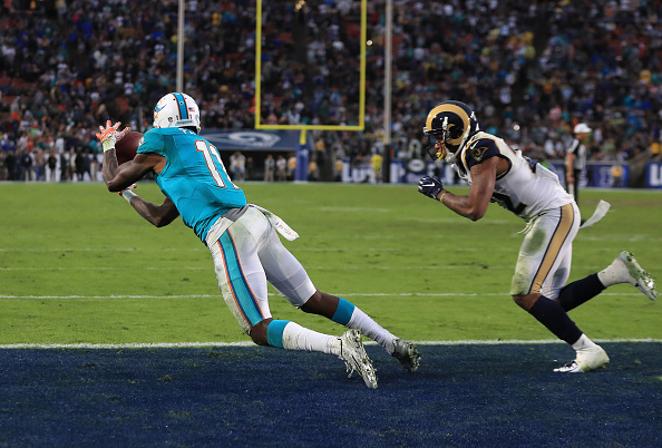 Miami Dolphins v Los Angeles Rams