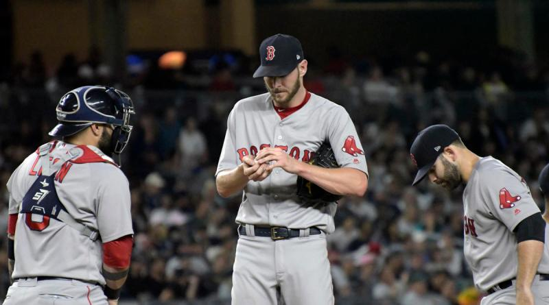 , Is It Time To Worry About Chris Sale's End Of The Season Issues?