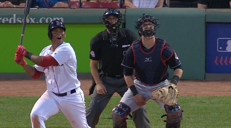 Devers Baseball Fenway Red Sox