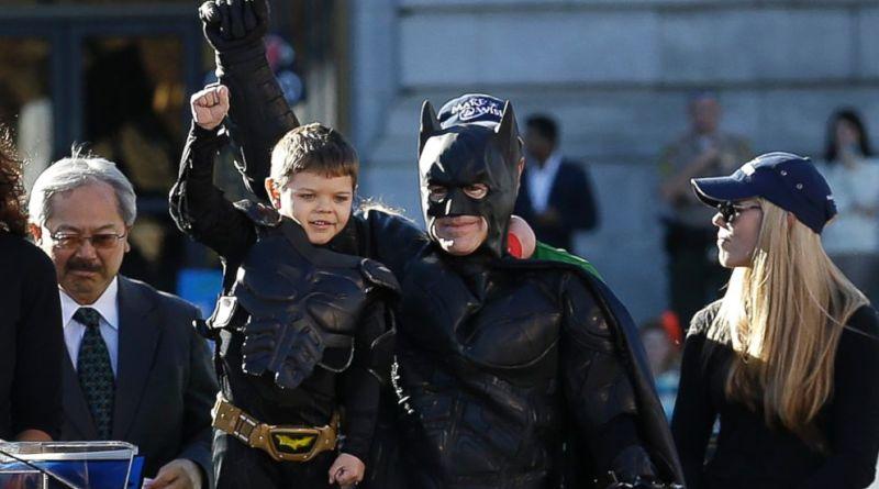 Batkid, Batkid Is Now CANCER FREE