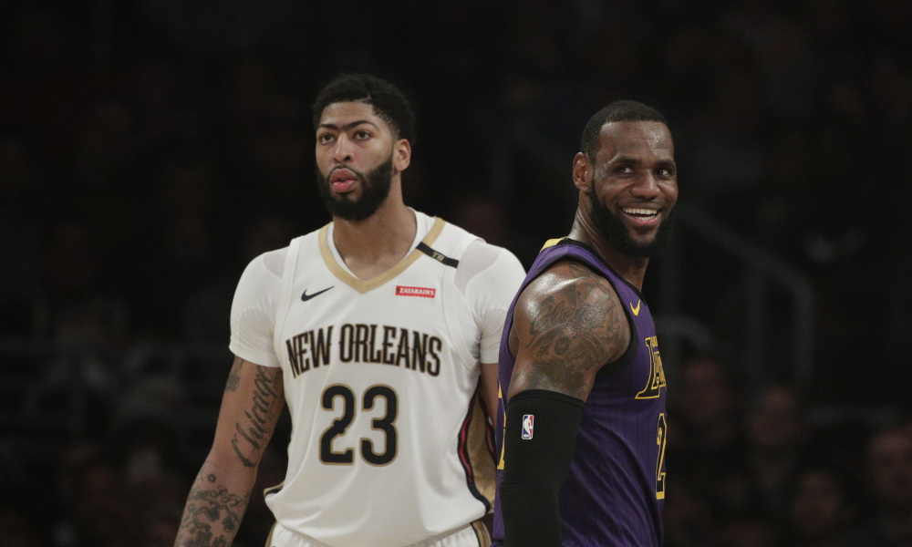 "Multiple people around the league expect Rich Paul and Anthony Davis to  tell teams his ""preferred destination"" is the Lakers e40709055"