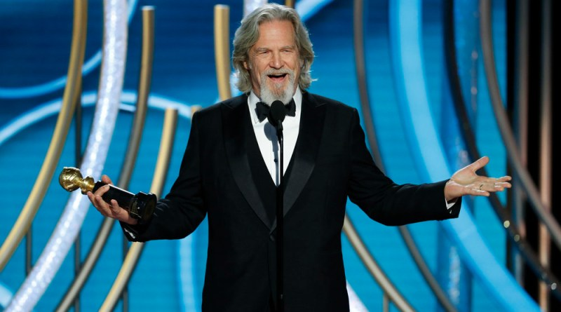 "Jeff Bridges, Jeff Bridges gets ""tagged"", steals the show at Golden Globes"